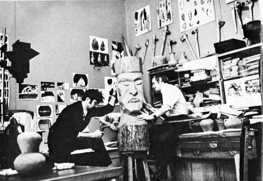 Лаборатория в 70-х