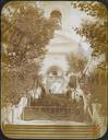 Q.164 -2 Оптина Введенская Макарьева пустынь близ г.Козельска. Вид лестницы и святых ворот под колокольней. Снимок Гольдберга, май 1887  года.