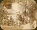 Q.164 - 7 Оптина Введенская Макарьева пустынь близ г. Козельска. Иоанно-Предтечевский скит : келья святого Амвросия – наружный вид. Снимок Гольдберга, май 1887  года.