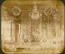Q.164 - 8 Оптина Введенская Макарьева пустынь близ г. Козельска. Иоанно-Предтечевский скит: церковь – внутренний вид, иконостас. Снимок Гольдберга, май 1887  года.