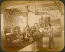 Q.164 - 15   г.Козельск. Калужская губерния. Ремесленное училище – вид части слесарной мастерской с учениками за работой. Снимок Гольдберга, май 1887  года.