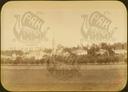 Q.164 - 16  Оптина Введенская Макарьева пустынь близ г.Козельска. Общий вид монастыря от дороги из Козельска. Снимок Гольдберга, май 1887  года.